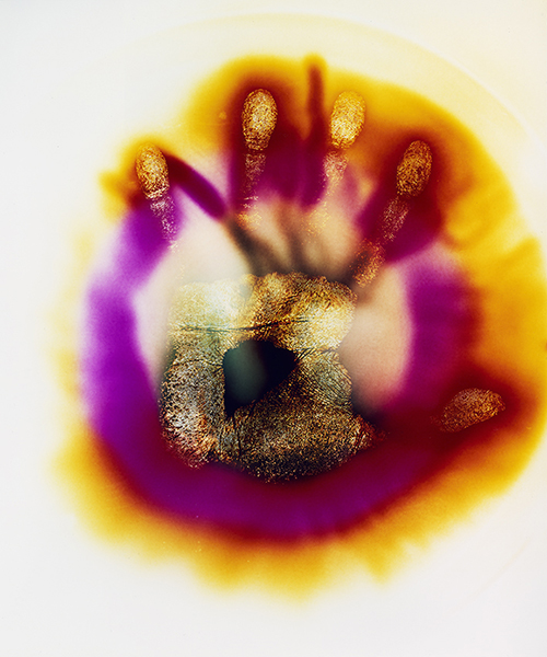 plasma palte, plasmagraph, alternative photography, darmroom, c-type, colour, hands, identity,
