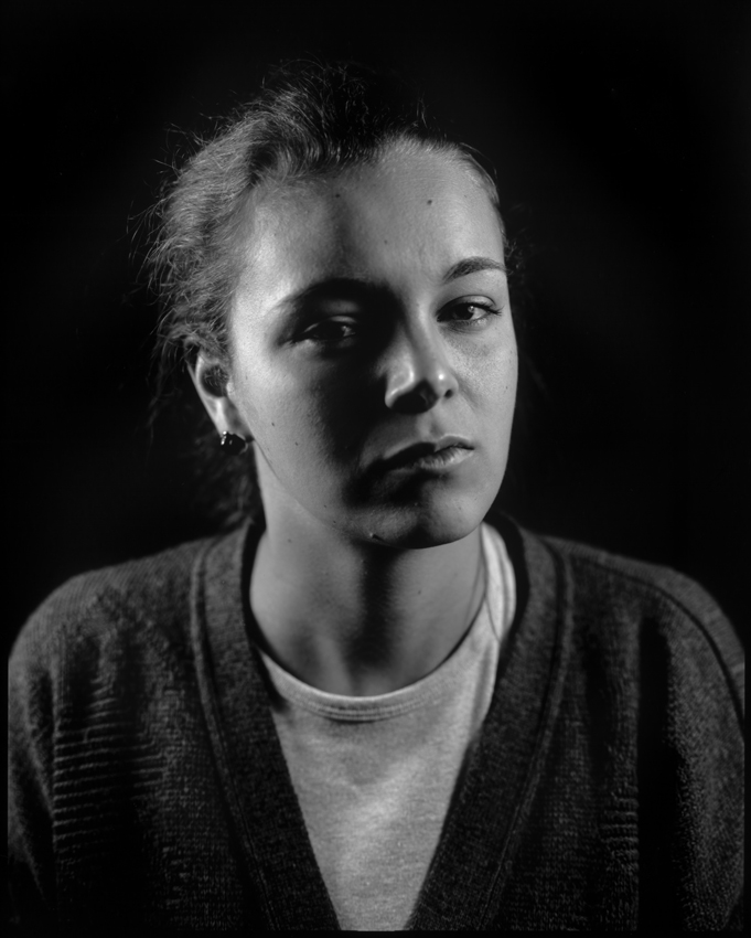 10x8, BW, alternative processes, Alternative photography, photography, studio, large format, black background,  broli, flash, f2.8, friends, Eca, edinburgh college of art, headsets, headhunt, light well studio,